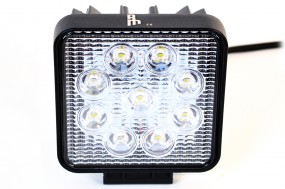 27W RAW Lights LED Flutlicht Arbeitsscheinwerfer Arbeitslicht Scheinwerfer 12V/24