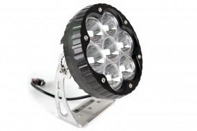 2 St. 70W ULtralux LED Zusatz Fernscheinwerfer 40° 11.000lm TÜV zugelassen LIGHTPARTZ