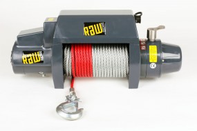 RAW MACHINE®- THE WICKED WINCH 5.4 t Anhängerwinde inkl. Kabel-Fernbedienung