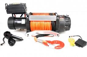Raw Machine Elektrische Seilwinde E4.3S 9500LB 12V Offroad Kunststoffseil