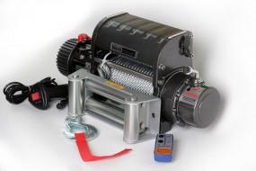 Elektrische Seilwinde Black Motion® Anhänger 5,9 t 13000LB 12V