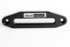 Aluminium Seilfenster Black Motion® Seilwinde für Kunststoffseil schwarz